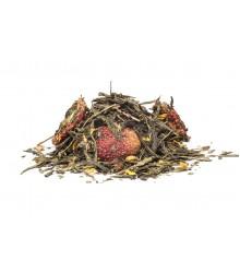 Vanilková jahoda zelený čaj 100 g