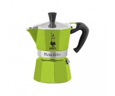 Bialetti Moka Color zelená 3 porce