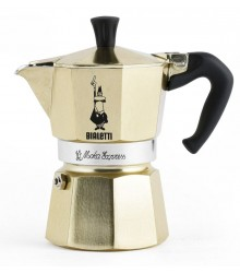 Moka Express 3 porce Gold