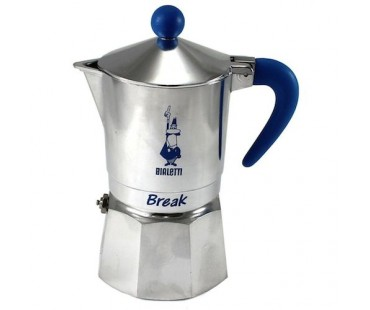 Bialetti Break 3 porce modrá