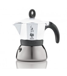 Bialetti Moka Induction Bílá 3 porce