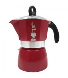 Bialetti Dama Glamour Red 3 porce