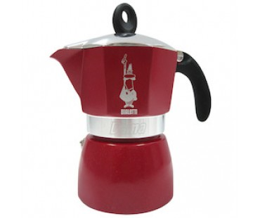 Moka Dama Glamour Red 3 porce